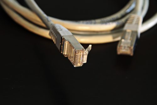 Mauris Gravida Network Cables Connection