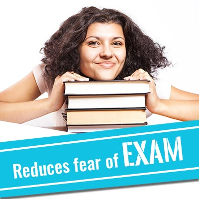 Reduces exam fear.