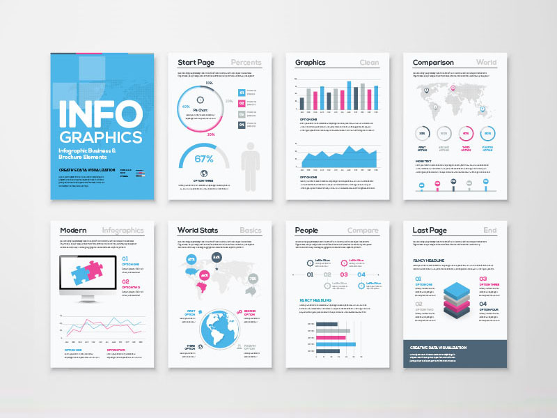 How to Create Great Looking Info Graphics?